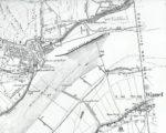In de terminologie van de Rijkswaterstaat is de Binnenboomse wetering een tochtsloot - een deel van de rivierkaart uit 1866. De Hoogendijkstichting moet dan nog gebouwd worden.