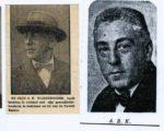 Foto's van Kleerekoper uit tijdschriften uit resp. 1910, 1931 en 1933