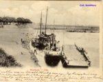 Het eerste stoombootje Gijsbert Stout in 1904