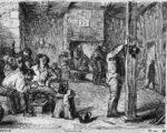 Aldus tekende Henri Hendrickx rond 1874 een herbergscene van Adriaen Brouwer na