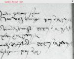 1527 Hertog Karel brengt officieren onder in de herberg Holland