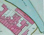 Een deeltje van de eerste kadasterkaart uit 1833