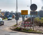 Tiel, 10 maart. Start van de wrkzaamheden ivm  verkeersveiliger inrichting Teisterbantlaan.
