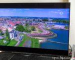 Tiel, 07 mei. Promotie: Tiel over de wereld met beelden tijdens Giro d'Italia wielerronde.