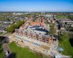 Tiel, 18 april.  Nieuwbouw van 13 woningen in Tiel West door SCW tpv de oude flat aan de Diderik Vijghstraat en sluit aan bij de Molukse wijk.