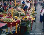 1984 Hanzedagen Neuss met Fruitcorsowagen