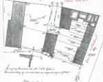"""Kadasterschets van de situatie in 1910. De rij huizen op het """"manegeterrein"""" (2788) is gebouwd in 1926"""