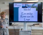 maart 2017: presentatie vondsten bij opgraving Medel