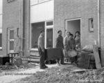 1961, de eerste bewoners Willem van Kesselstraat 2