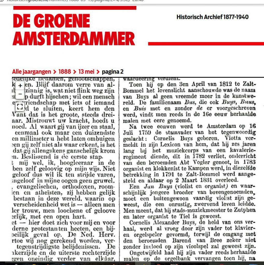 De Groene Amsterdammer van 1882
