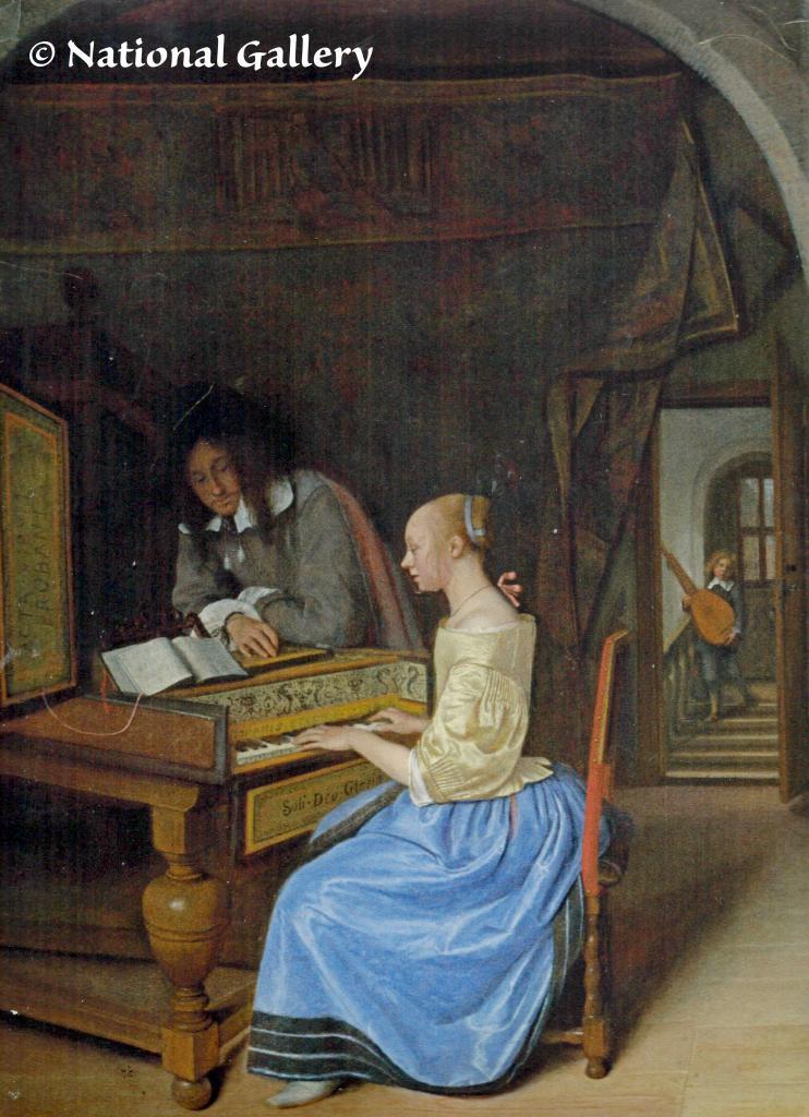 Een van Jan Steen's muziekmeesters
