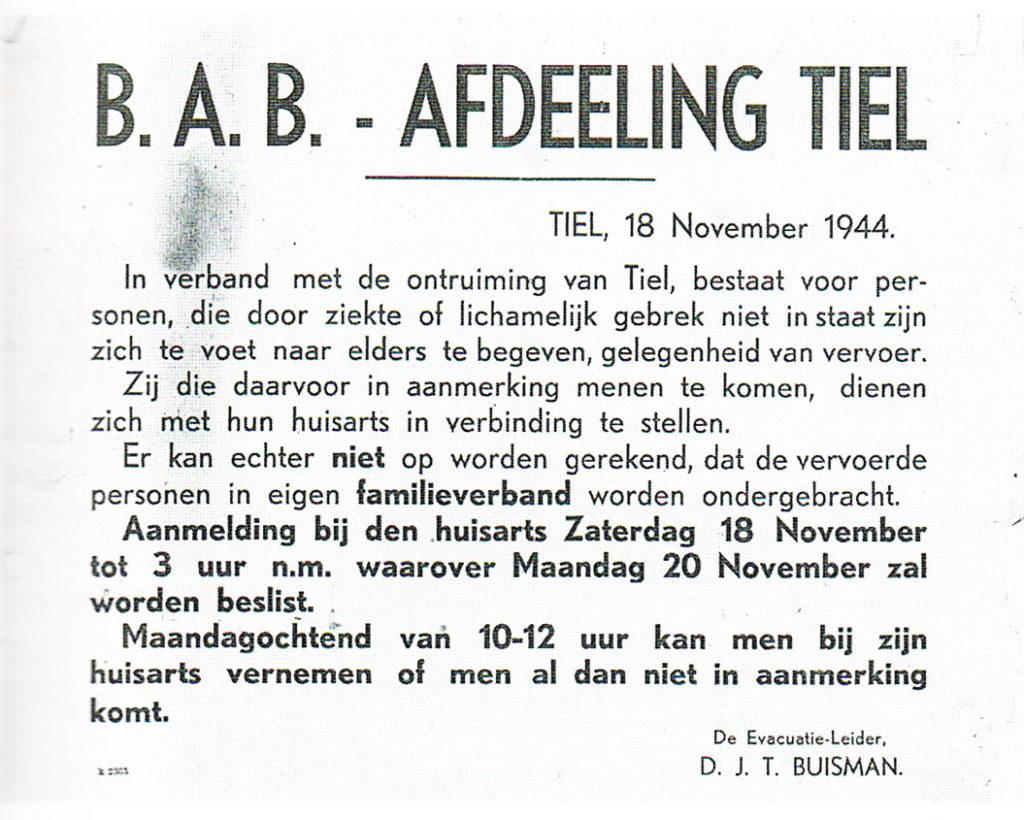 De laatste maanden van de Tweede Wereldoorlog in Tiel: deel 6 - de Tielenaar